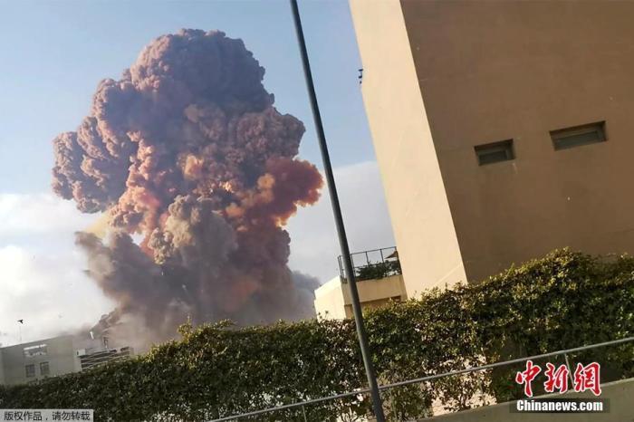 黎巴嫩贝鲁特海港地域爆炸多位国外公民伤亡