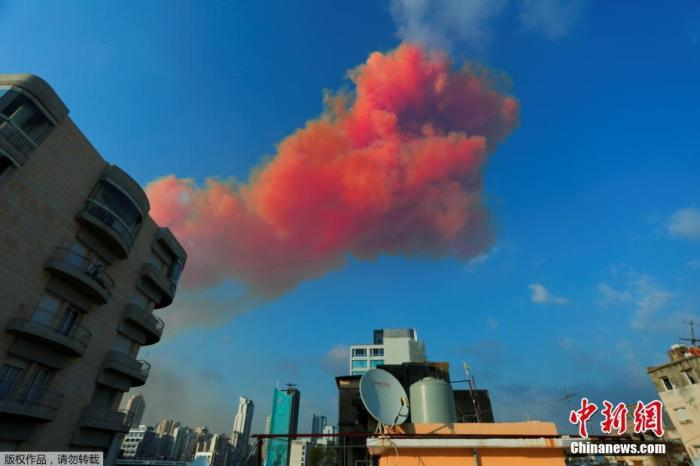当地时间8月4日下昼6时旁边四川快3计划,黎巴嫩首都贝鲁特港口区发生重大爆炸,众栋房屋受损,玻璃被震碎,天空升首粉色蘑菇云和浓烟。