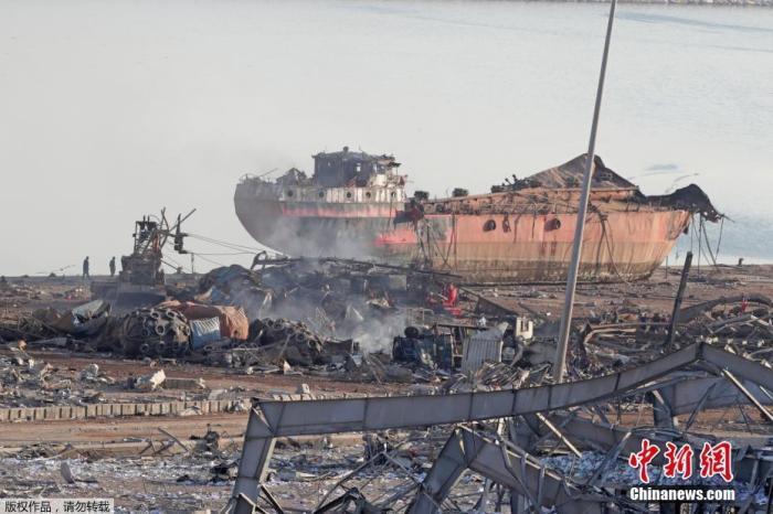 联合国官员:黎巴嫩爆炸致48名联合国工作人员受伤图片