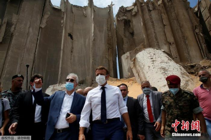 法国总统马克龙呼吁黎巴嫩尽快组建新政府并进行改革图片