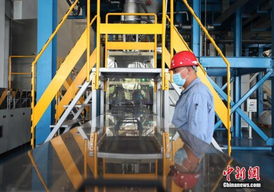 China's industrial output up 4.8 pct in July