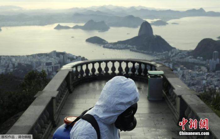 巴西确诊病例累计超353万例 圣保罗州州长新冠肺炎痊愈图片