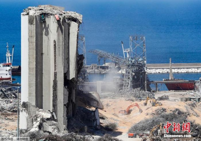 黎巴嫩爆炸案已有25人被捕 新政府内阁或2周内组建图片