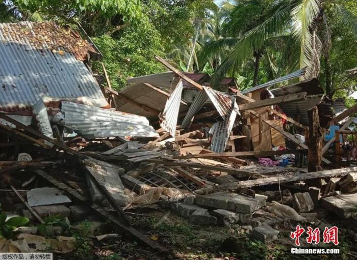 菲总统府:杜特尔特身体状况很好 希望飞往马斯巴特地震灾区视察
