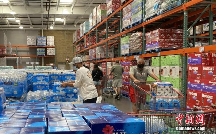 美国路易斯安那州或迎两场飓风同时登陆 总统下令提供联邦帮帮