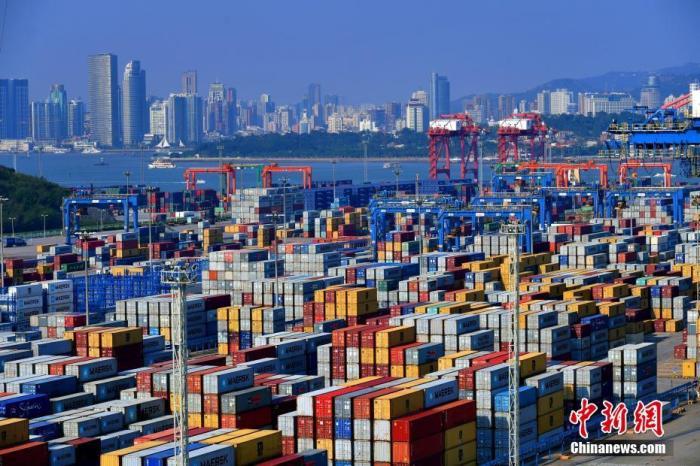 资料图:厦门港海沧集装箱码头。中新社记者 王东明 摄