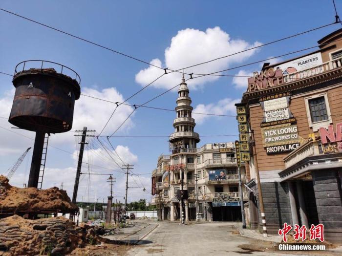 中国电影《八佰》在英国上映图片