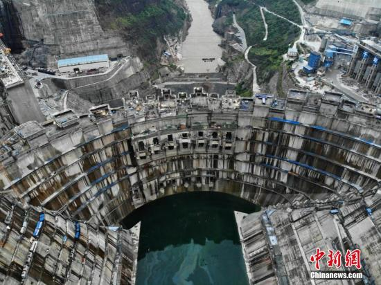 China's new mega hydropower station to begin operations in July