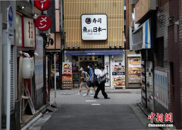 资料图:疫情下的日本。 中新社记者 吕少威 摄