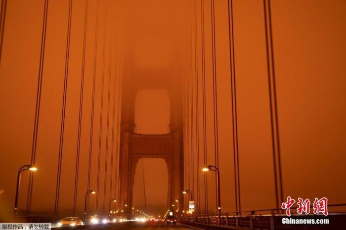 美国西海岸山火失控30余人死亡 数十万人紧急疏散图片