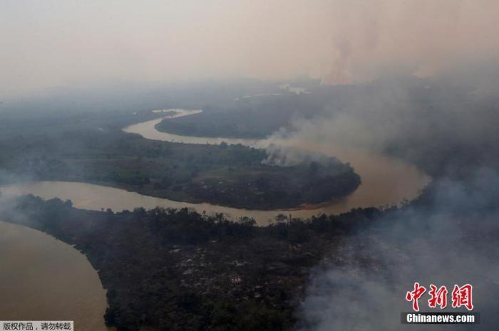 超22万起!巴西2020年野火数量创10年来最高图片