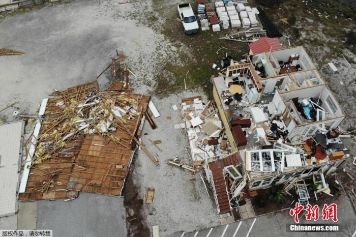 暖!美国老人帮114户邻居还水电费 社区曾遭飓风重创图片