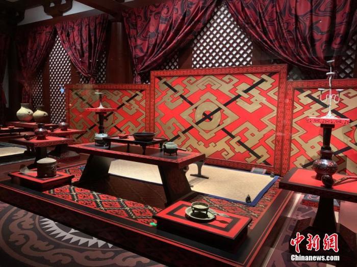 南昌汉代海昏侯国遗址公园正式开园 展出大量珍贵文物