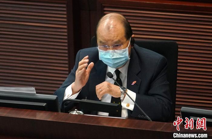 资料图:香港特区政府政务司司长张建宗。<a target='_blank' href='http://www.chinanews.com/'>中新社</a>记者 张炜 摄