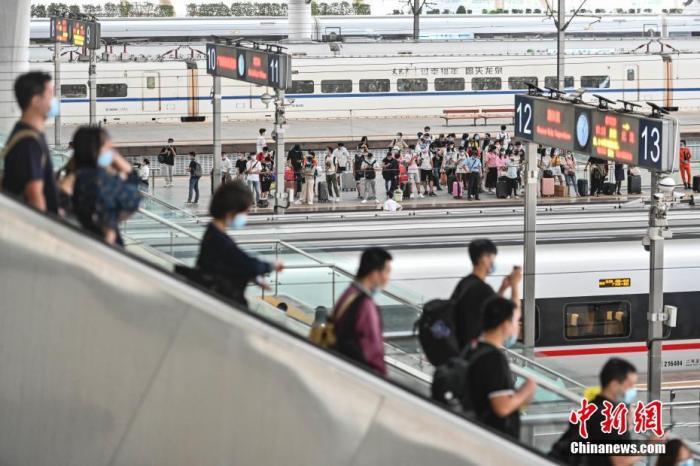 全国铁路连续三天发送旅客超千万人次