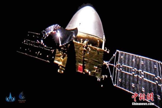 中国的火星探测器行进超过3亿公里