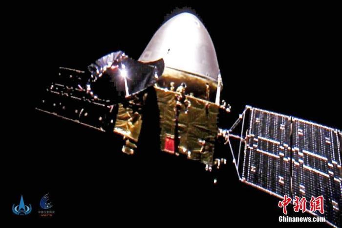 天问一号火星探测器飞行里程突破3亿千米