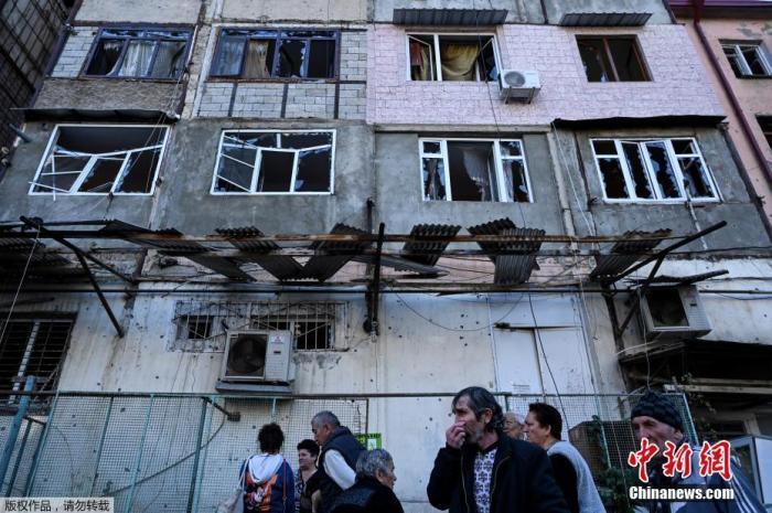 亚阿冲突持续8日已致240人死亡 多方促尽快停火图片