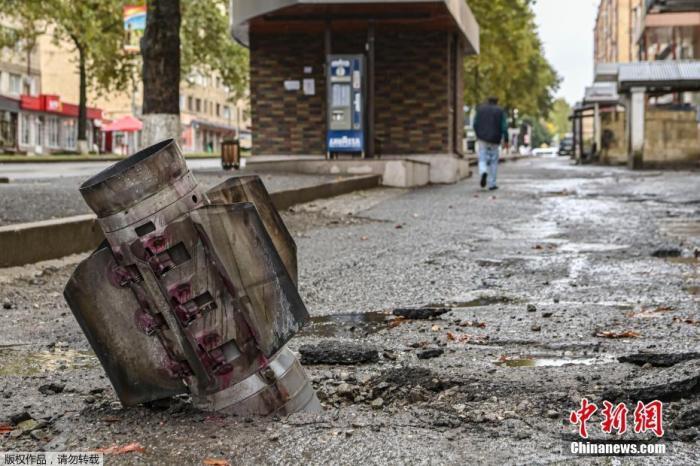 俄国防部:维和人员灯草大师每天在纳卡销毁超百个爆炸物