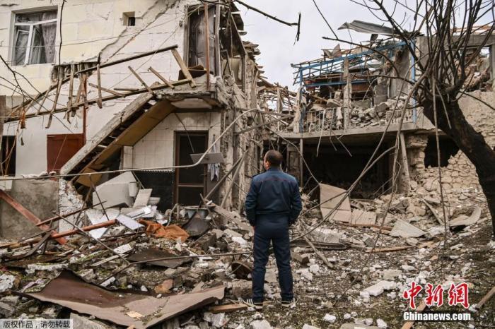 外媒:亚美尼亚和阿塞拜疆或最早于9日达成停火协议图片
