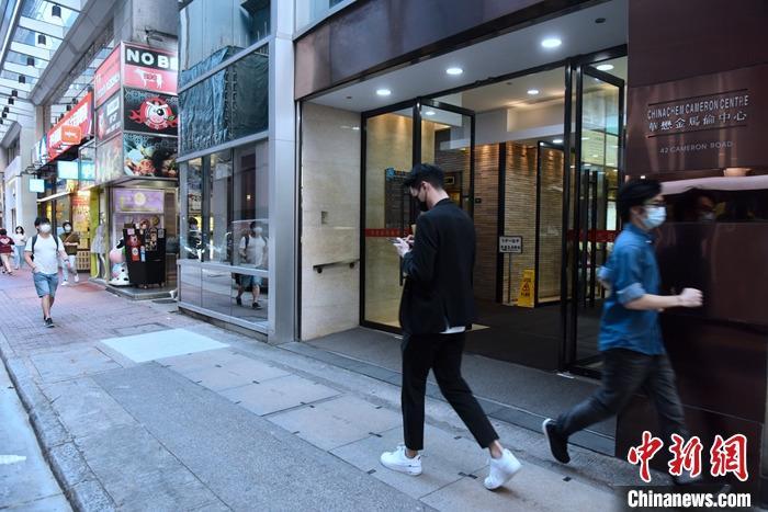资料图:香港街头。 <a target='_blank' href='http://www.chinanews.com/'>中新社</a>记者 李志华 摄