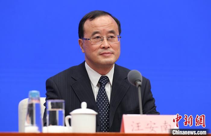 10月20日,国务院新闻办公室在北京举行新闻发布会,水利部总规划师汪安南介绍治理淮河70年有关情况,并答记者问。 中新社记者 杨可佳 摄