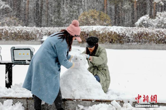 中东部地区降温继续 黑龙江吉林等地有大暴雪
