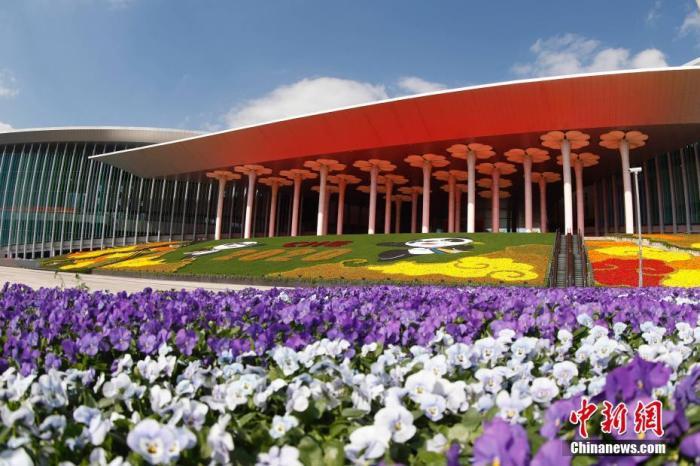 资料图:国家会展中心(上海)外景。 第三届中国国际进口博览会在此举行。<a target=