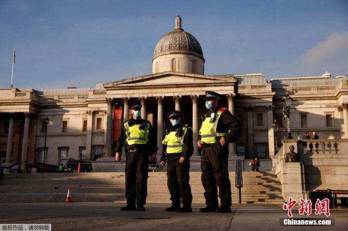 英媒:英国已有849名警察新冠病毒检测结果呈阳性图片