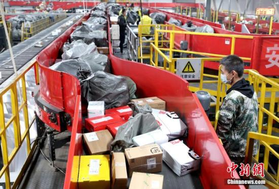 China delivers and collects 660 million parcels during 2021 Spring Festival, up 260% y-o-y