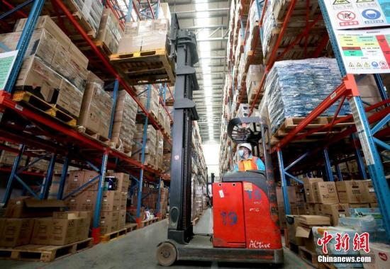 过去五年,中国物流业稳步增长