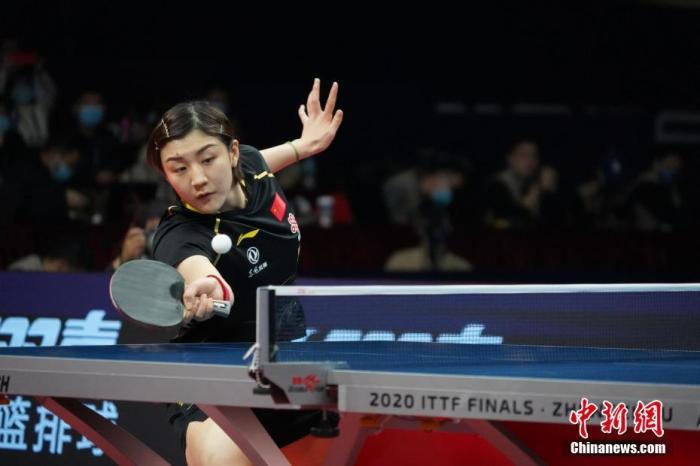 资料图:陈梦在比赛中。<a target='_blank' href='http://www.chinanews.com/'>中新社</a>记者 阚力 摄
