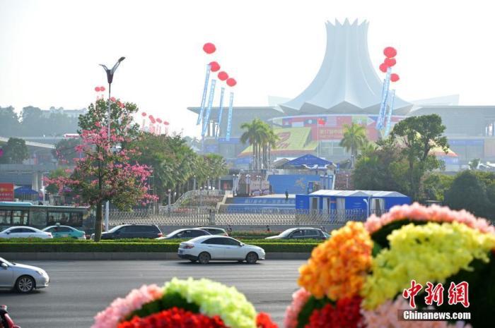 第十七屆中國-東盟博覽會11月27日在南寧開幕。 中新社記者 俞靖 攝