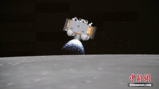 登陆地点准备接收中国的e娥五号探月探测器