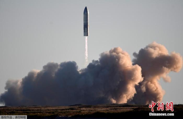 """美SpaceX""""星舟""""SN8第二次试飞 着陆时发生爆炸插图"""