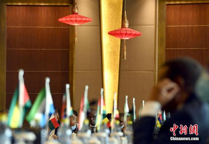 12月10日,中非合作论坛第十四届高官会在北¶举行。 a target='_blank' href='http://www.chinanews.com/'中新社/a记者 侯宇 摄