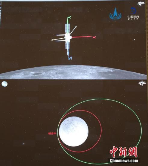 e娥五号完成月球地球转移轨道的第二次轨道校正