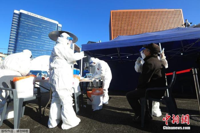 韩国启动大规模疫苗接种 力争11月实现群体免疫