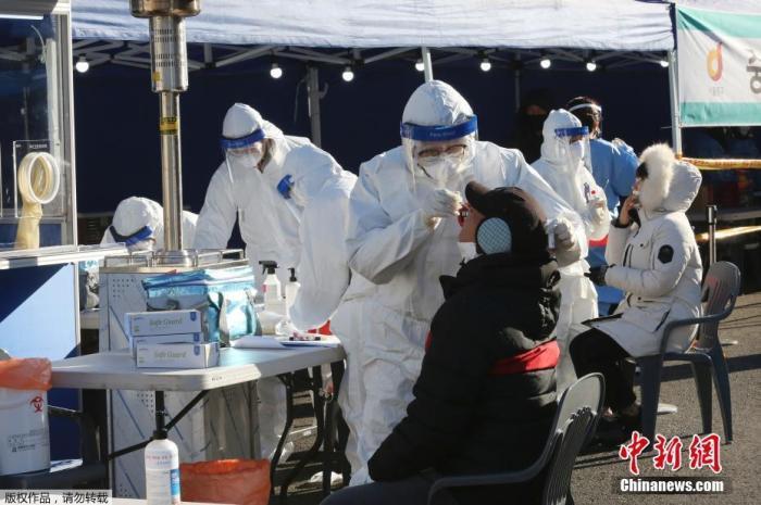 韩媒:韩国近32万人接种新冠疫苗 不良反应3900余例