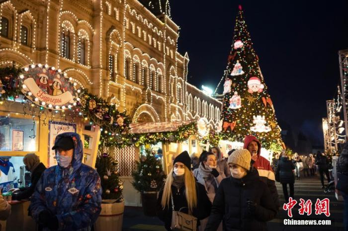 资料图:疫情下的俄罗斯。图片来源:ICphoto