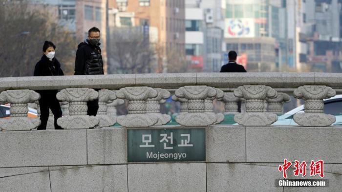 资料图:疫情下的韩国。 <a target='_blank' href='http://www.chinanews.com/'>中新社</a>记者 曾鼐 摄