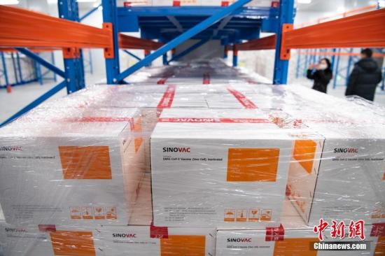 15 mln doses of raw materials of Sinovac COVID-19 vaccine arrive in Indonesia