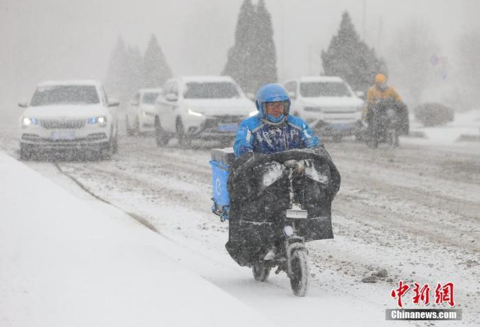 寒潮继续影响黄淮以南 东部和南部海域有大风