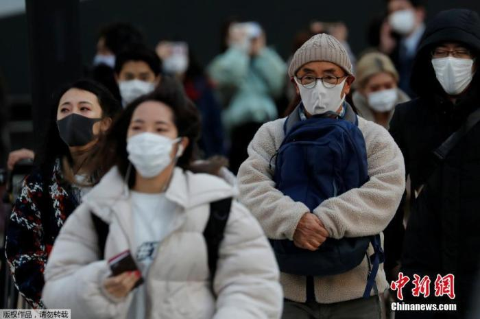 日媒:日本28都府县感染人数增加 疫情反