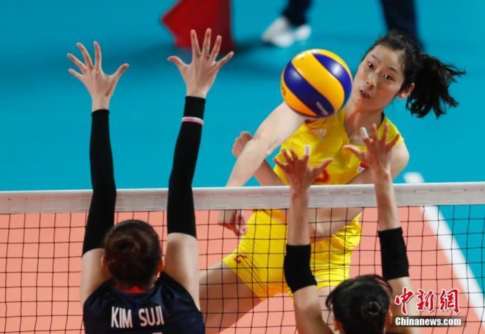 全运会排球资格赛参赛名单公布 朱婷领衔河南女排