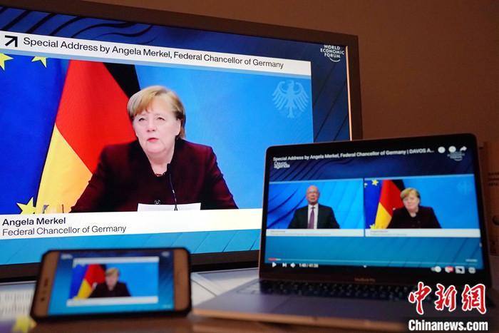 资料图:德国总理默克尔。 /p中新社记者 彭大伟 摄