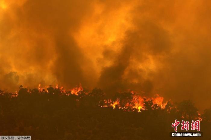 在奥珀斯郊区,数十场房屋被野火摧毁, 当地人撤离