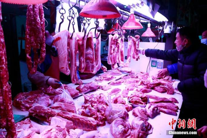 官方预计今年中国CPI保持在温和区间 猪肉价格料持续下行