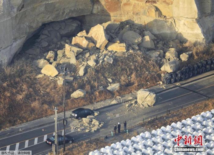 福岛第一核电站逾50个核污水罐在强震后发生位移