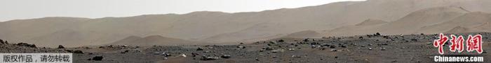 NASA毅力号拍全景照 360度展现火星样貌(图)